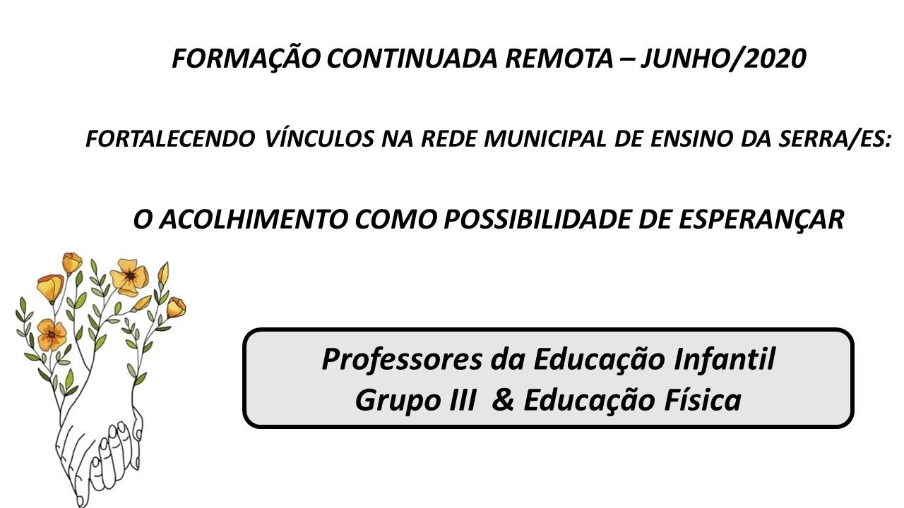 ProfinfantilG3 & edu Fis